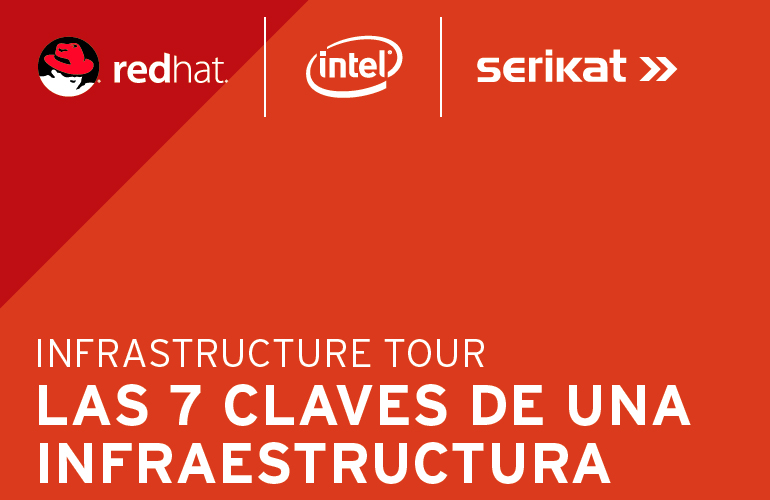 "Serikat organises the Red Hat 2018 ""Infrastructure Tour"" in Bilbao"