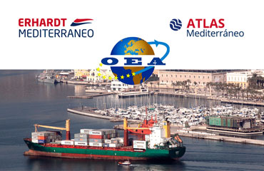 ERHARDT MEDITERRÁNEO and ATLAS FORWARDING MEDITERRÁNEO obtains Authorised Economic Operator (AEO) Certification