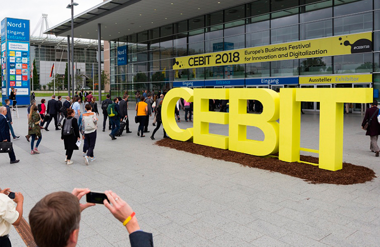 Serikat goes to CEBIT 2018. the world´s largest technological event